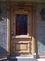 Antique Victorian Front Entry Door
